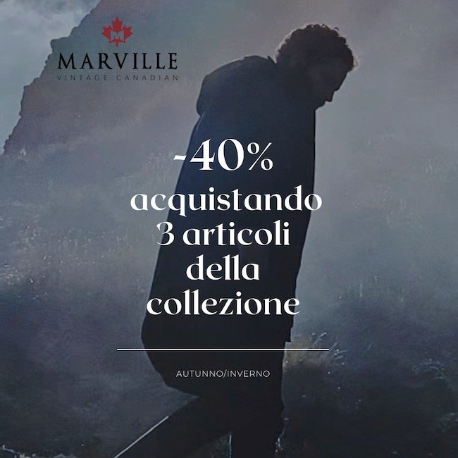 Marville – Sconto 40%